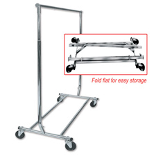 Collapsible salesman rack