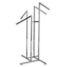 4-Way rack with slanted arms