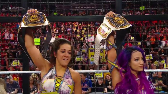 Boss 'N' Hug Connection win first WWE Women's Tag Team ...