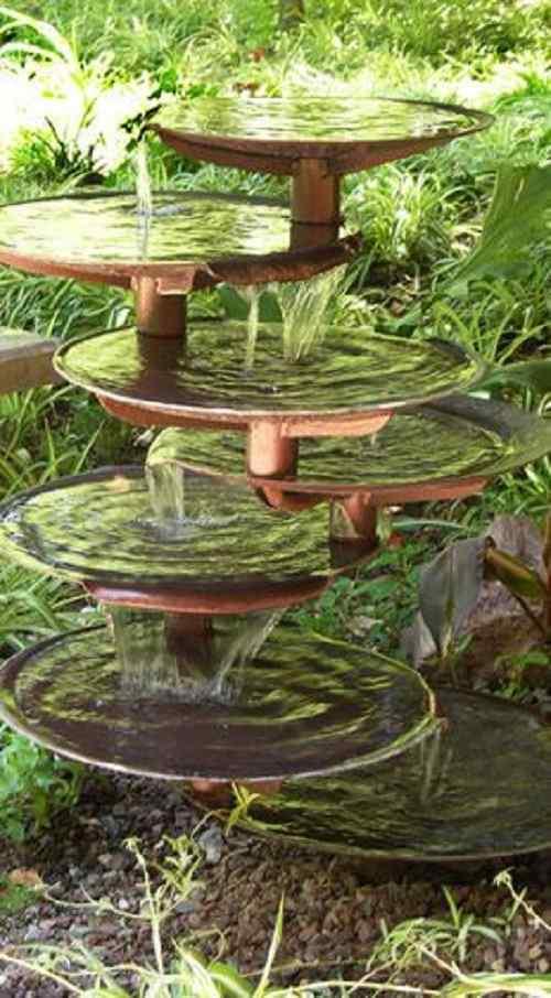 Homemade Pond Fountain