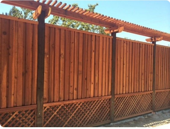 25 Most Inspiring Redwood Fence Designs Ideas To Style Up
