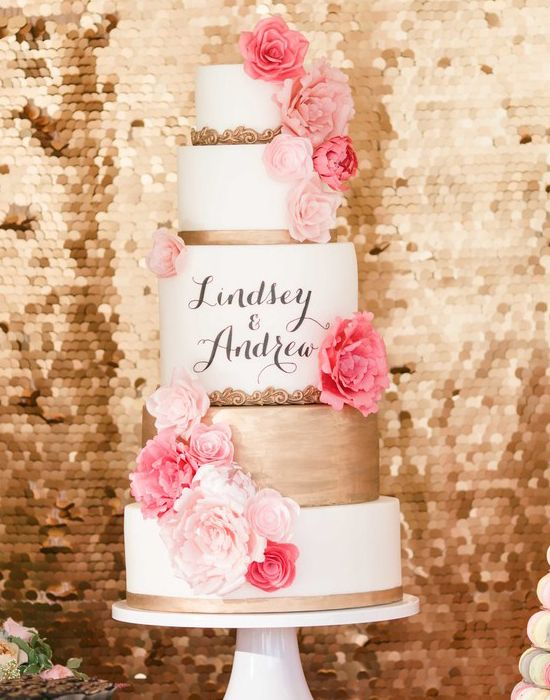 Amazing Wedding Cake Inspiration and Idea s Classic Timeless cake 4