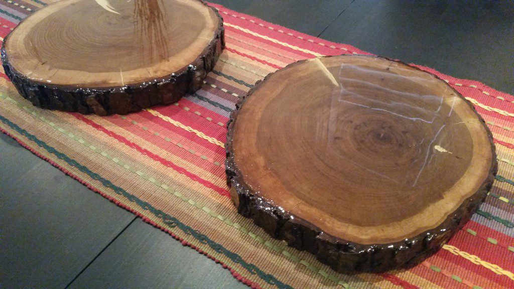 Diy Wood Log Decor Project Wood Slabs Tree Log Discs