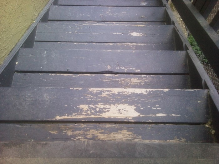 Best Heavy Traffic Exterior Paint For Wood Stairs Painting | Best Wood For Stairs | Engineered Hardwood | Stairway | Engineered Wood Flooring | Staircases | Wooden Staircase