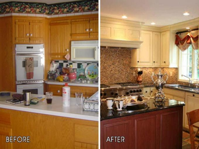 Cheap Kitchen Makeover Projects   DIYCraftsGuru