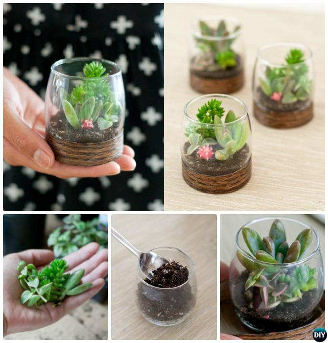 Mini Clay Planters
