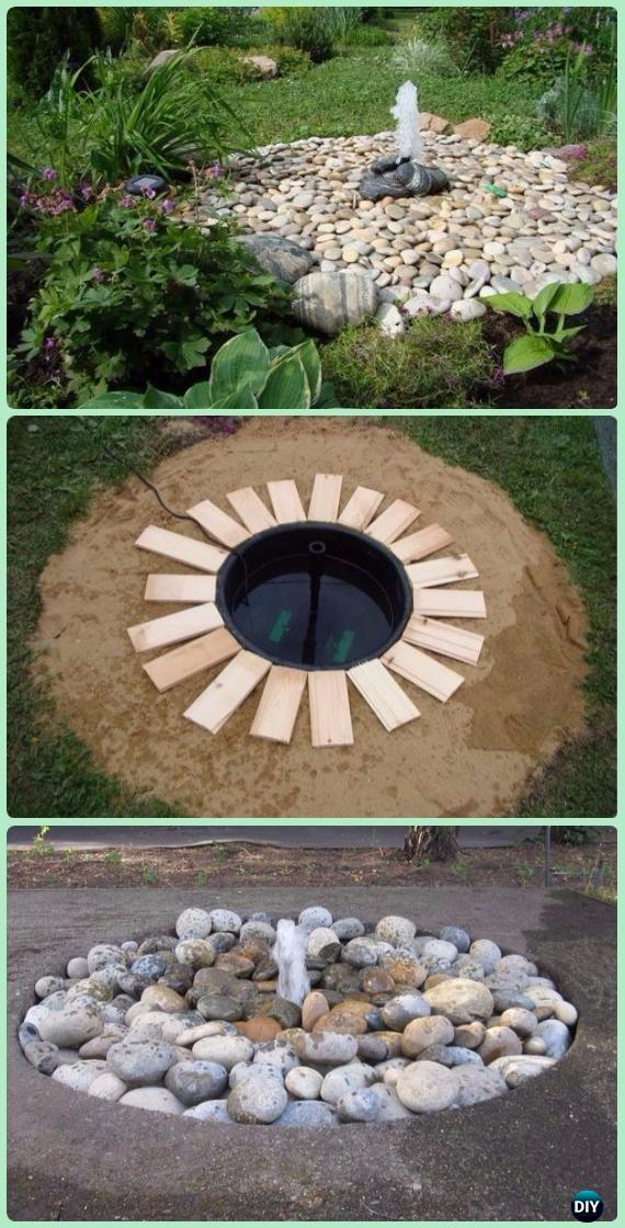 Diy Garden Fountain Landscaping Ideas Amp Projects With