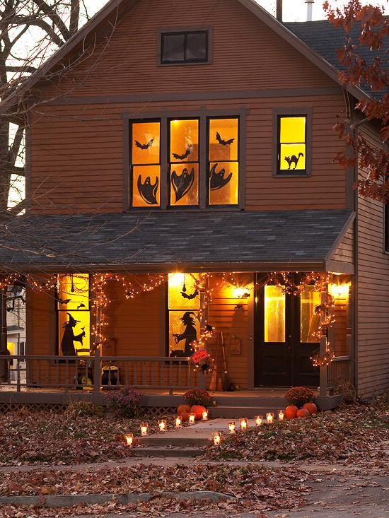 Hang Tree Halloween Pumpkins