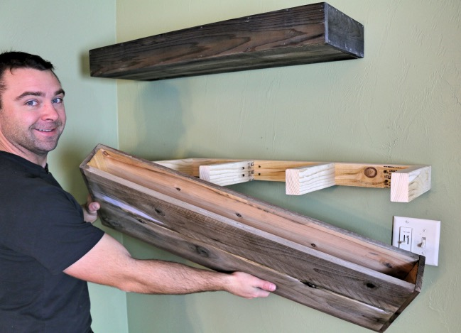 gallery of make your own wooden shelf brackets