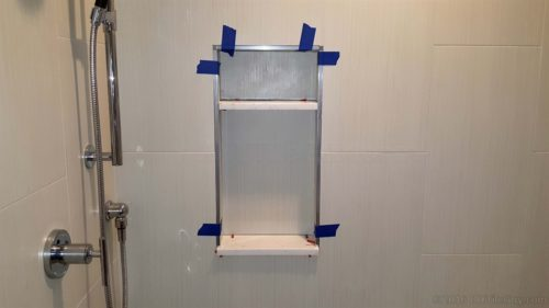 Built In Shelf Wall Box Tile