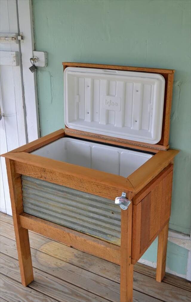 12 Diy Wooden Pallet Cooler Design Diy To Make