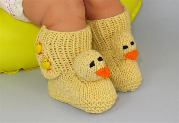 Easter Chicks Free Knitting Pattern