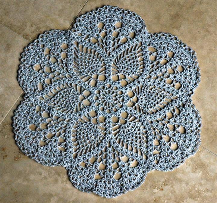 Easy Crochet Doily Free Pattern