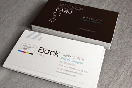 New Creative Business Card Mockup Templates for Free Download     Business Card