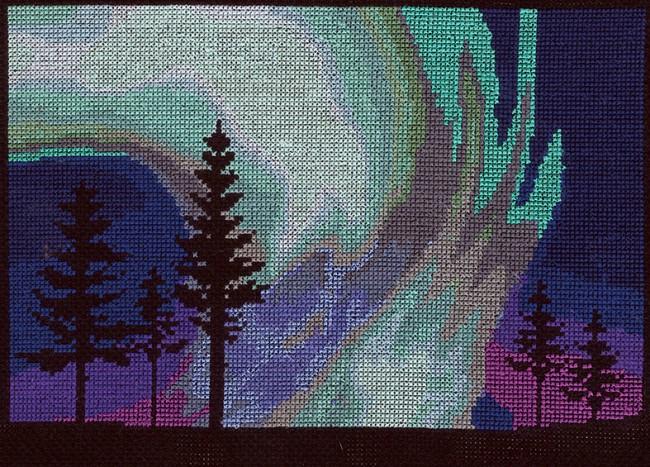 Northern Lights Fabric