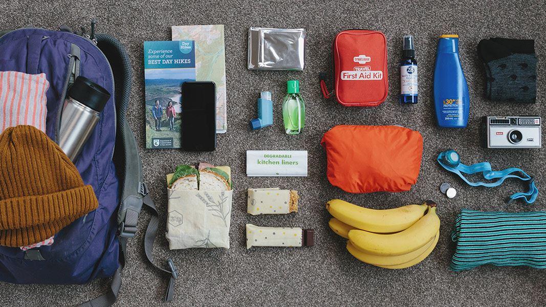 Day Hikes Gear List