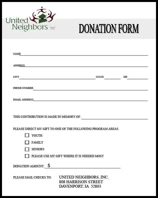 Generic Application Form