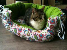 Cat Beds To Make 100 Sew And No Sew Patterns Dogcatpin Com
