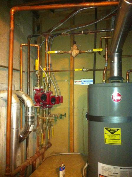 Zone Baseboard Pumps Heating