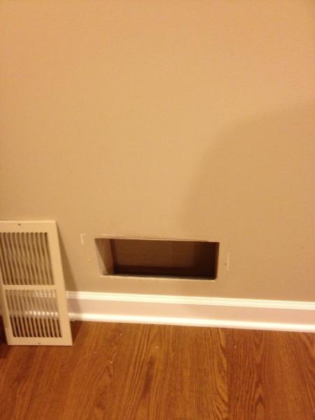 Air Circulation Vents Wall