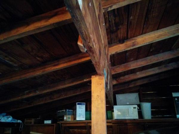 Sagging Rafters In Detached Garage Roof Doityourself Com