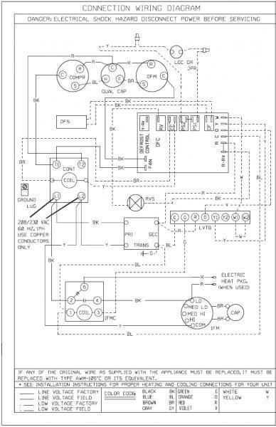 Diagram Gas Wiring Heat