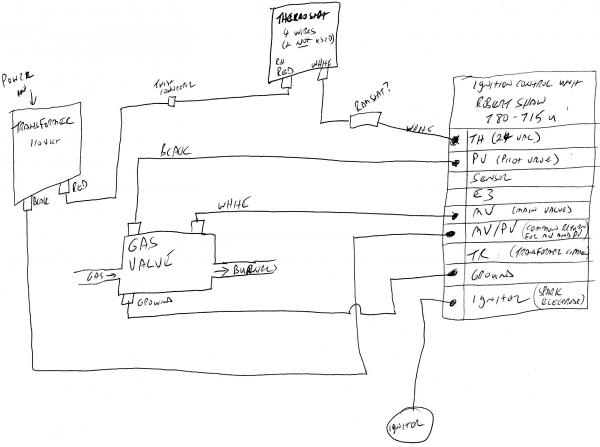 wiring diagram for robertshaw thermostat robertshaw 9520 rh color castles com Robertshaw Thermostat Troubleshooting install robertshaw thermostat