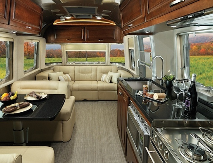 Airstream Redesigns Their Classic Travel Trailer For 2015