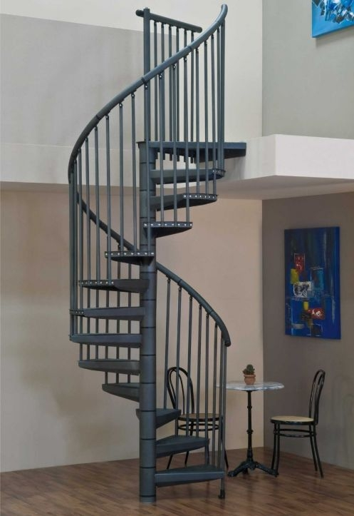 Spiral Staircase Delta | Spiral Staircase 2 Floors | 8 Ft | Interesting | Spiral Shaped | Outdoor | Wooden