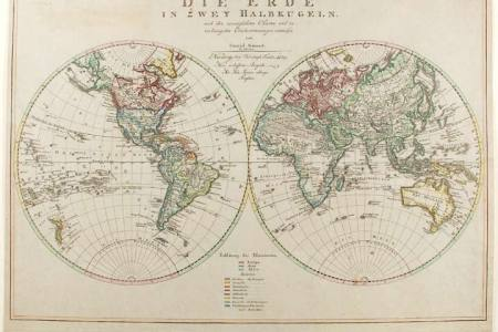 World map with hemispheres full hd pictures 4k ultra full mountains rivers johnston world twin hemispheres relief mountains rivers johnston antique map world map with hemispheres and oceans copy key stage gumiabroncs Gallery