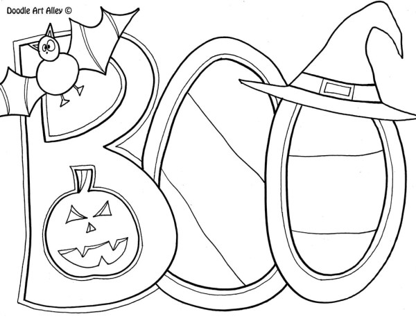 coloring pages halloween # 26