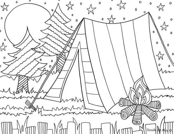 summer coloring pages printable # 29