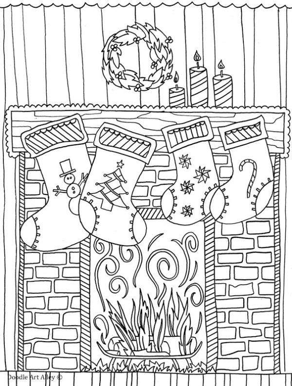 chrismas coloring pages # 27