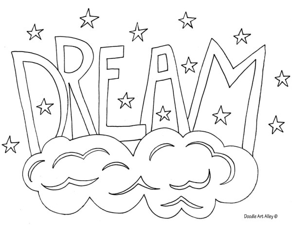 word coloring pages # 2