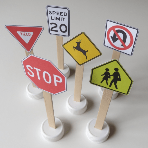 Printable Traffic Signs for Kids   Doodles and Jots Printable Traffic Signs for Kids