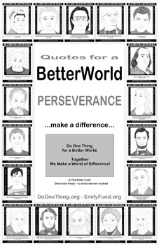 Do One Thing - Quotes for a Better World