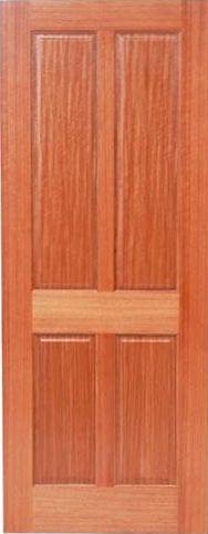 African Mahogany Doors