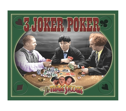The 3 Stooges Joker Humor Tin Sign Cheap Wall Essential