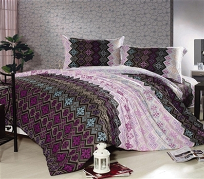 Majestic Abstract Twin Xl Comforter Set College Ave