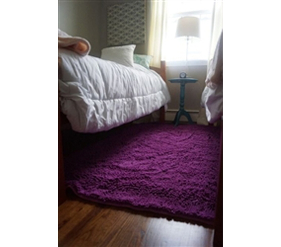 Decorate Your Dorm Room Chenille Area Rug 4 X 6