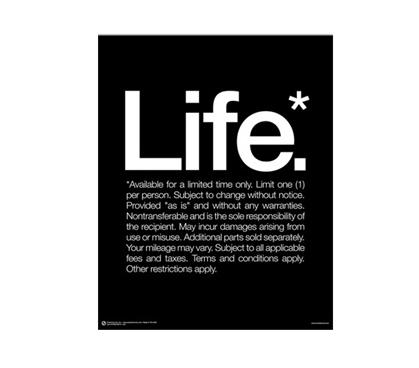 Life Poster Dorm Essentials Cool Dorm Stuff Posters For