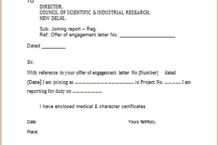 New sample joining letter format for employee fresh 3 joining report appointment letter format pdf in hindi vgmb co up anudeshak joining letter appointment download ssc format pdf in hindi appointment letter from x pdf copy spiritdancerdesigns Gallery