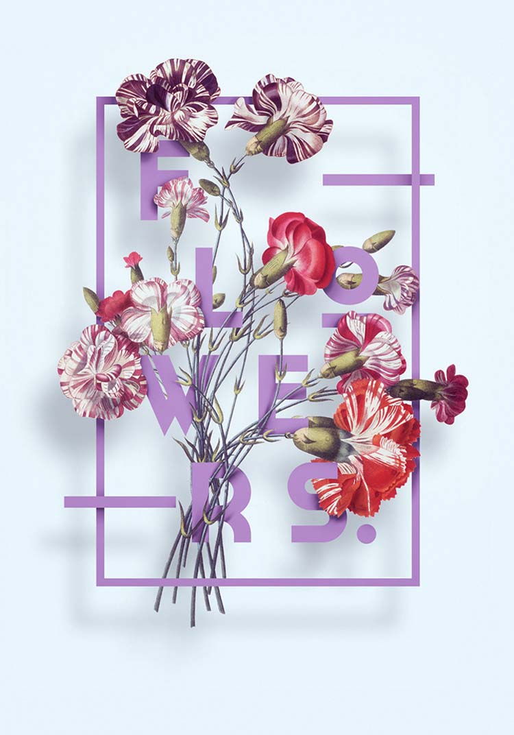 Love I My Flowers Poster