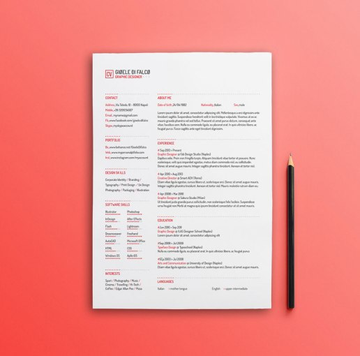 Best Free Clean Resume Templates in PSD  AI and Word Docx Format Clean Resume Templates