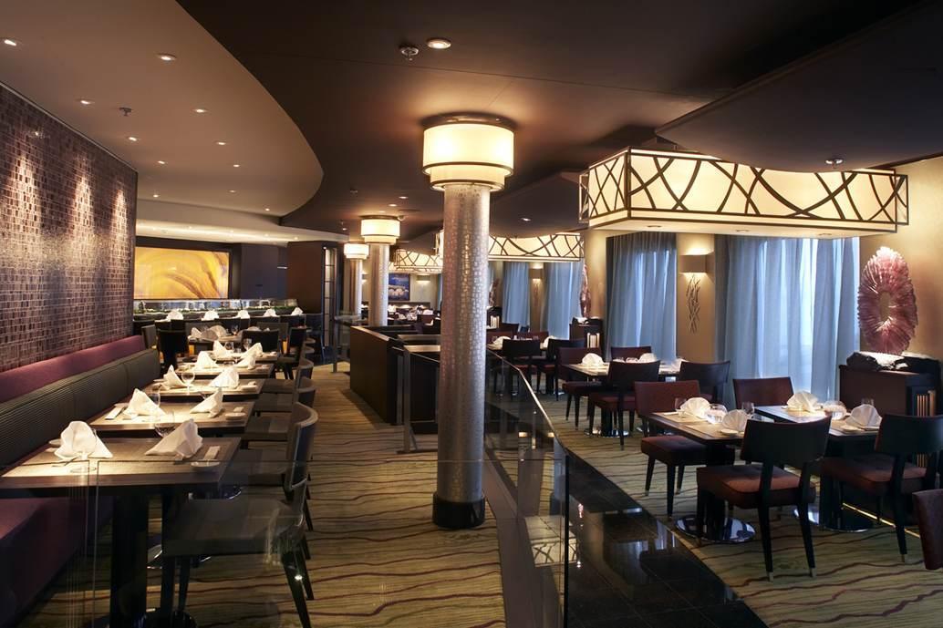 Silk Road Restaurant Crystal Symphony Cruise Ship Dpa