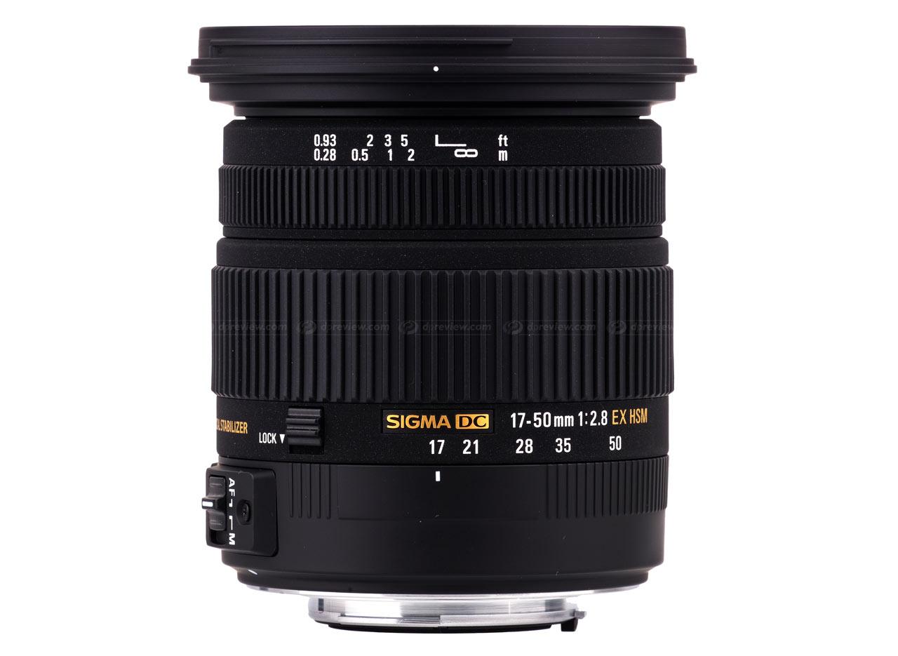 Sigma Hsm 17 Ex Lens Aperture 50mm Fld Standard Canon 8 Large Os Dc Digital Zoom 2 F
