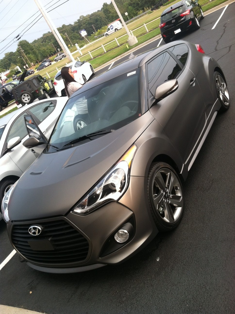 Stock 2013 Hyundai Veloster Turbo 1 4 Mile Trap Speeds 0 60 Dragtimes Com