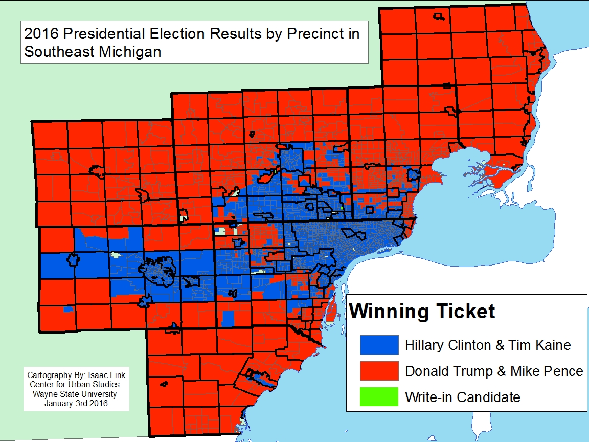 Change Evident In Southeastern Michigan For Presidential