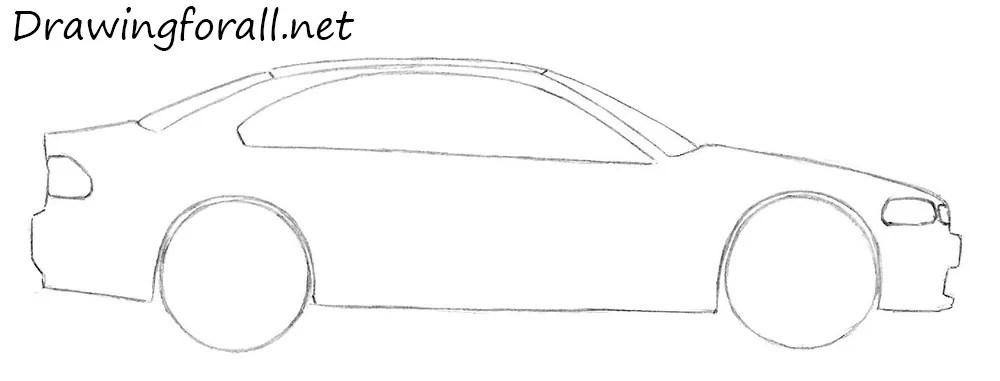 Simple Line Drawings Vehicles