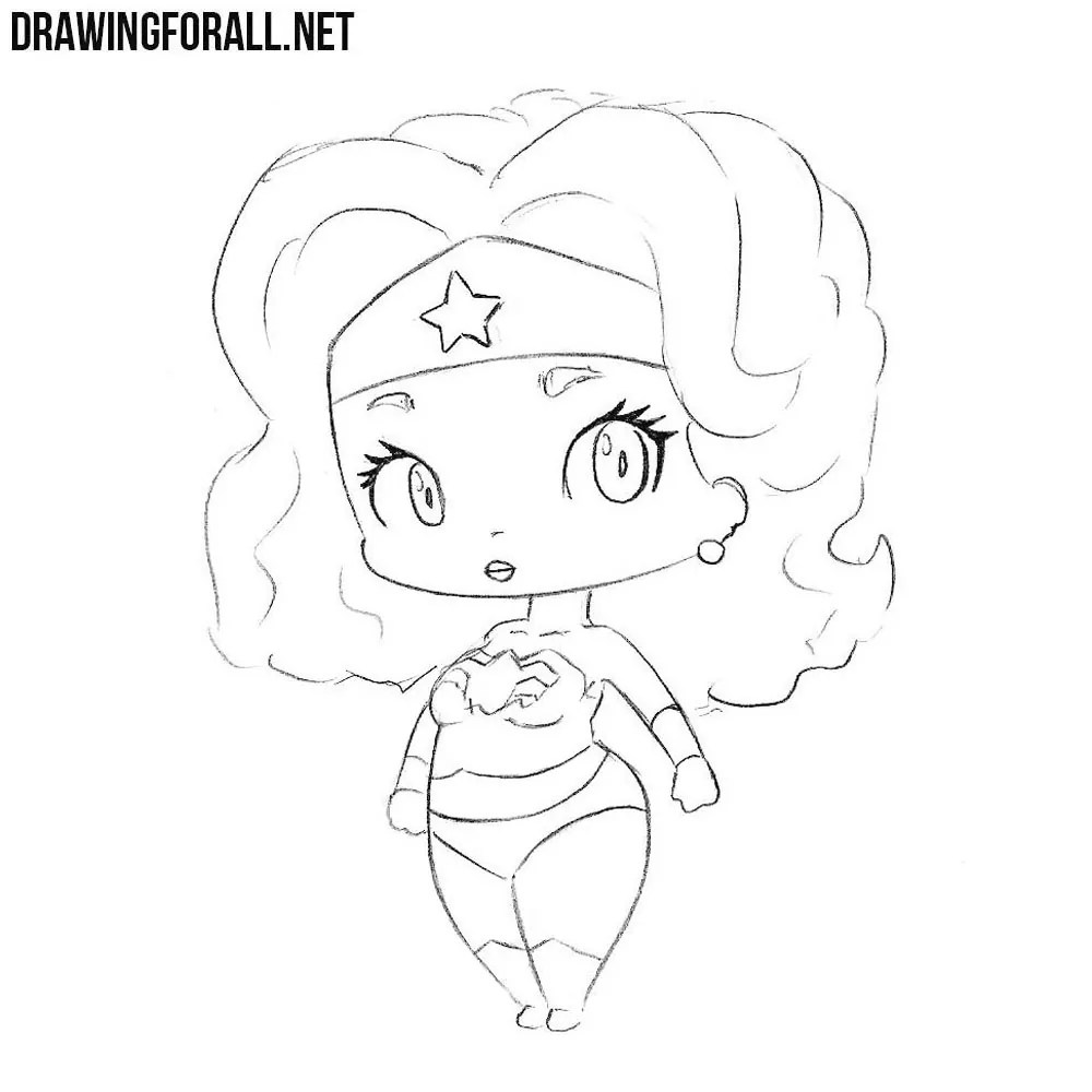 How Hair Chibi Draw